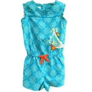 Disney Store Girls Romper Princess Embellished 5 6